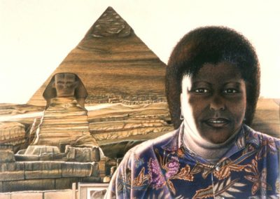 Giza Self Portrait